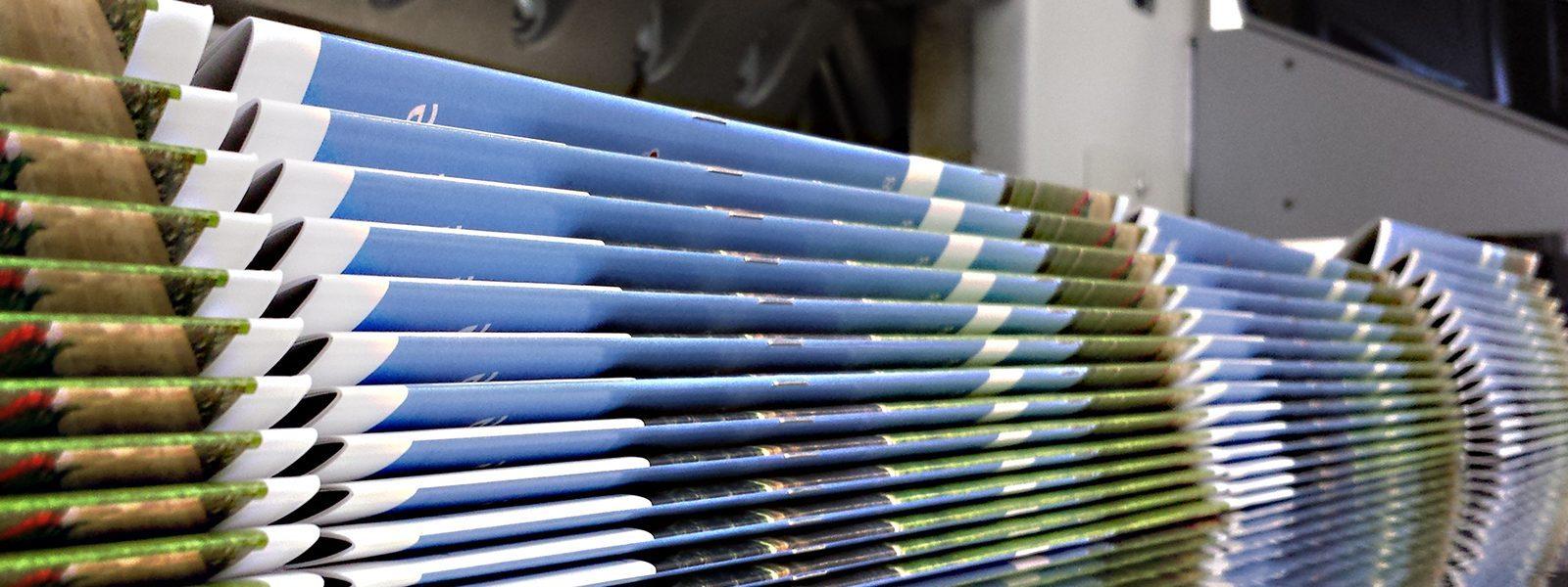 Broschüren im Digitaldruck - schnell und günstig von Druckerei Wagner